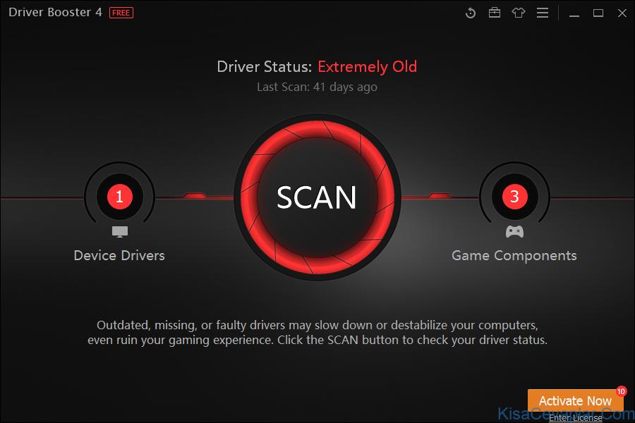 Driver Booster ile ilgili görsel sonucu