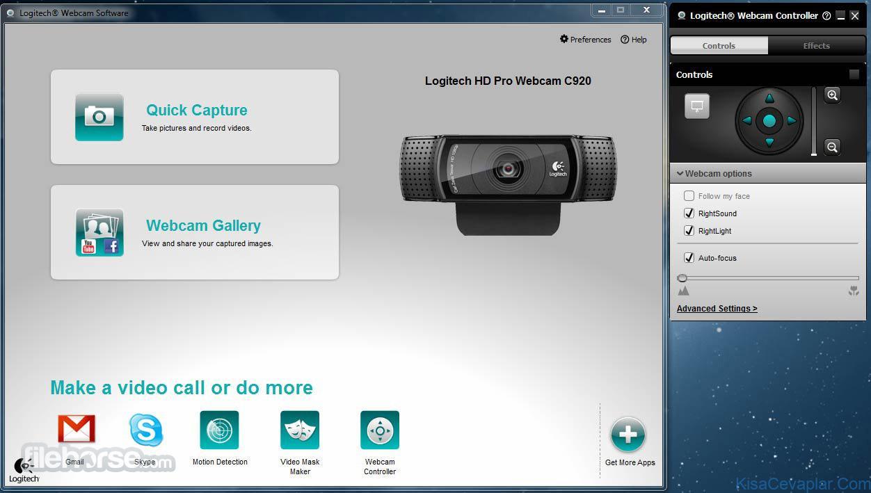 Logitech Webcam Software ile ilgili görsel sonucu