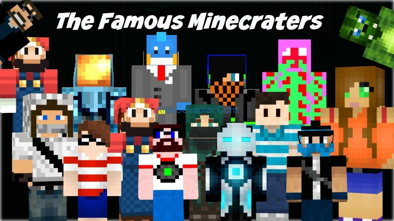 Famous Minecrafters ile ilgili görsel sonucu
