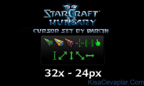 Starcraft 2 Cursor Set