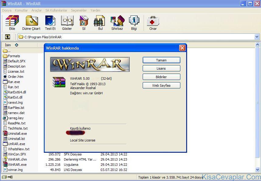 Winrar Türkçe Dil Paketi ile ilgili görsel sonucu