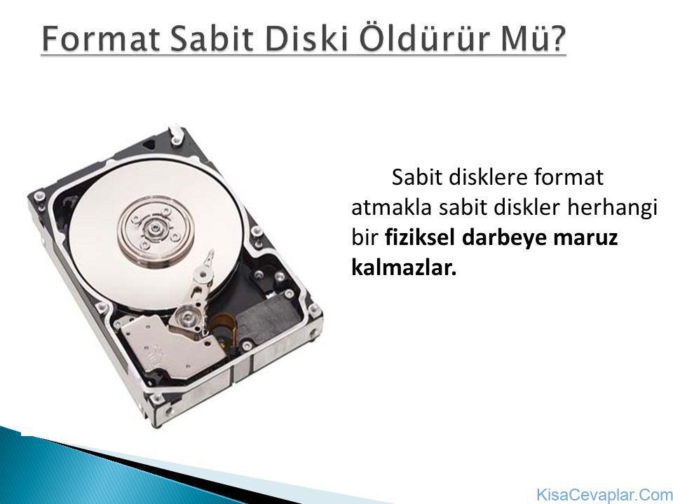 sabit disk format ile ilgili görsel sonucu