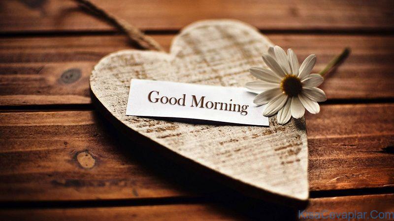 Rustic good morning