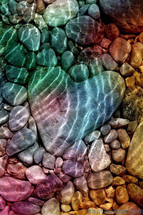 Heart Shaped River Rock