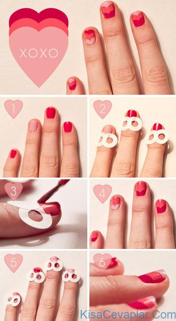 Valentine Nails Tutorial
