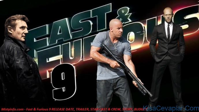 Fast Furious 9 RELEASE DATE TRAILER STAR CAST CREW STORY BUDGET