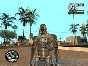 Gta San Andreas Iron Man Kostümü