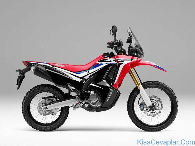 Honda CRF250L Rally studio side view