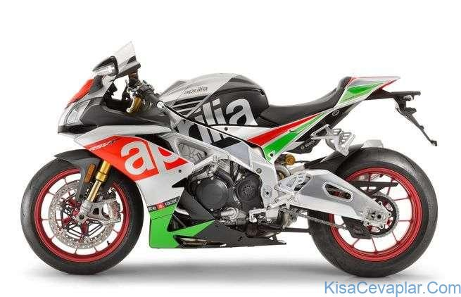 Aprilia RSV4 studio side view