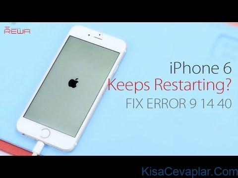 iPhone restart error ile ilgili görsel sonucu