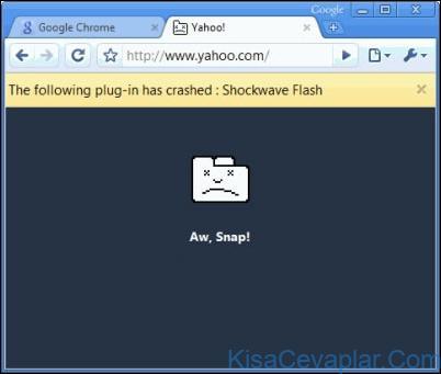 Google Chrome Çöktü ile ilgili görsel sonucu