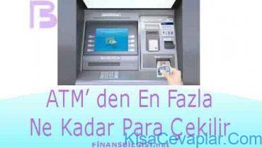 ATM'den en fazla ne kadar para çekilir? ile ilgili görsel sonucu